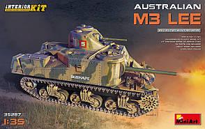 """Австралийский М3 """"Ли""""с интерьером. Сборная модель. 1/35 MINIART 35287"""