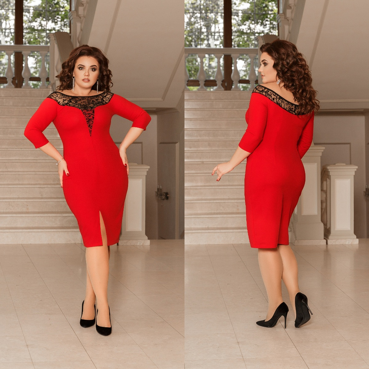 Платье женское 98кб батал