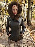 Утепленная куртка с шикарным мехом, фото 4