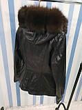 Утепленная куртка с шикарным мехом, фото 3