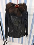 Утепленная куртка с шикарным мехом, фото 2