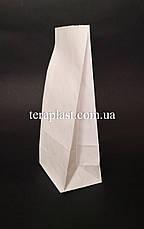 Крафт пакет с дном 70х40х190 (белый), фото 3