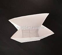 Крафт пакет с дном 70х40х190 (белый), фото 2