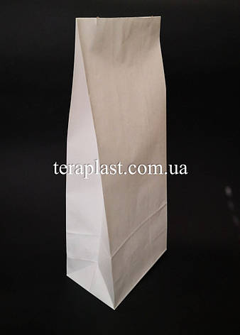 Пакет белый крафт с дном 70х40х190, фото 2