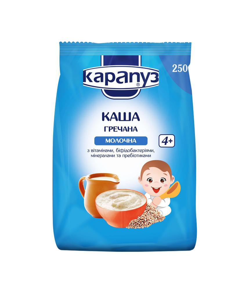 Каша гречневая молочная Карапуз  250г