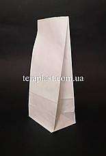 Пакет белый крафт с дном 110х60х270, фото 3