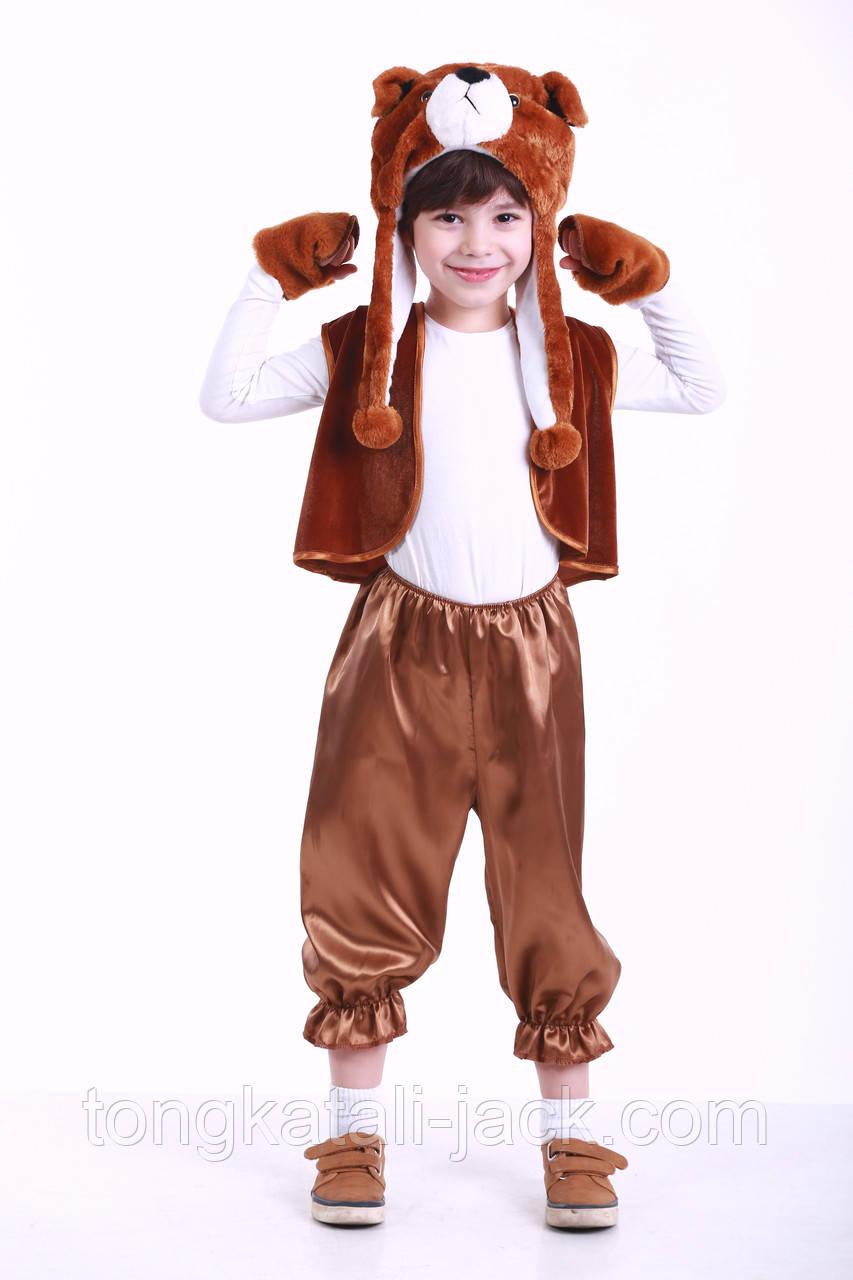 Костюм Бурого Мишки 3-7 лет, прокат карнавальной одежды