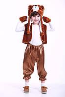 Костюм Бурого Мишки 3-7 лет, прокат карнавальной одежды, фото 1