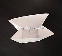 Пакет белый крафт с дном 130х80х310, фото 2