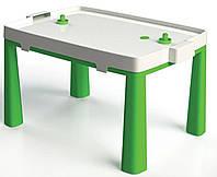 Большой пластиковый столик для детей ТМ Doloni 2в1 (стол + игра хоккей) Долони