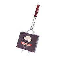 Решетка для гриля двойная хром 35x21 см Grill Me BQ-037 (4823082701360), фото 1