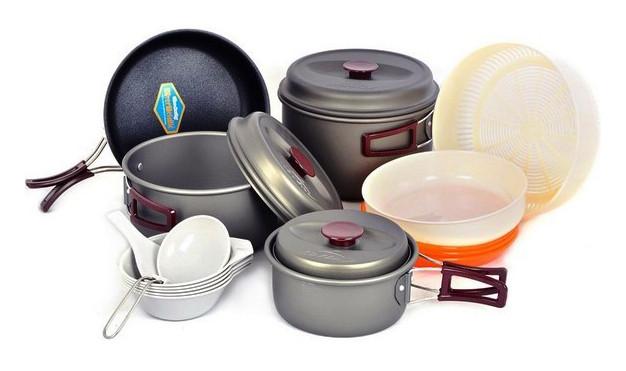 Набор посуды туристический Kovea Hard 56 KSK-WH56 (8806372005573)