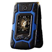 Мобильный телефон Land Rover x9 blue flip