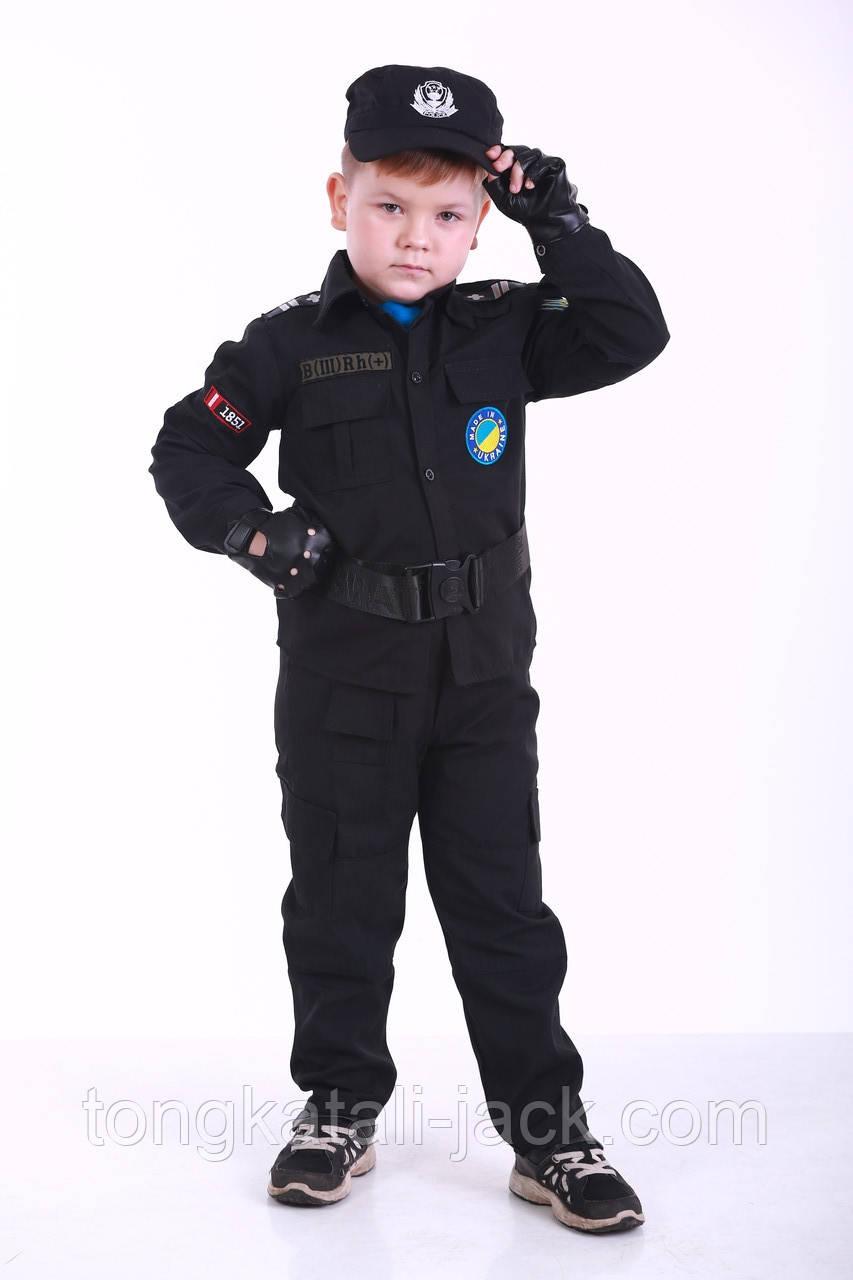Костюм полицейского 116- 128 см, прокат карнавальной одежды