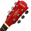 Гитара акустическая Equites EQ700C RD (медиатор и струна в подарок), синий, фото 3
