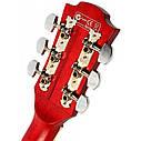 Гитара акустическая Equites EQ700C RD (медиатор и струна в подарок), синий, фото 4