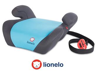 Автокресло-бустер  LIONELO LUUK BASE 15-36 кг (голубой)
