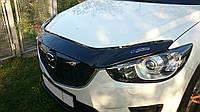 Дефлектор капота Mazda CX-5 с 2012г.в. (Мазда СХ-5) Vip Tuning