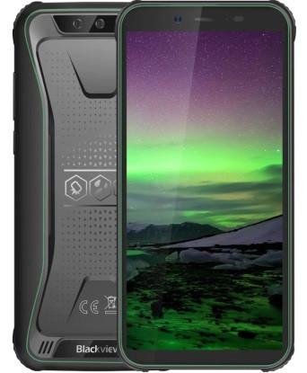 "Смартфон Blackview Bv5500 Pro 3/16Gb Green, 8/5Мп, IP68, 4 ядра, 2sim, экран 5.5"" IPS, 4400mAh, GPS, 4G"