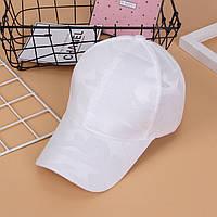 Белая молодежная кепка для девушек отп, фото 1