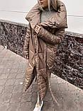 Пуховик-одеяло женское красное, фото 3