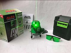 Лазерный уровень, нивелир AL-FA ALNL02 Диапазон 50м ·
