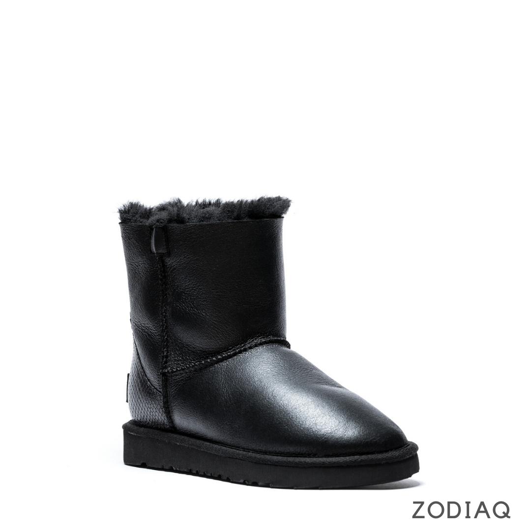 Угги зимние женские кожаные на меху ug87 - 2 mex 40 - 26 см