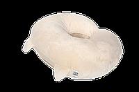 Подушка для кормления Cat, плюшевая с ушками