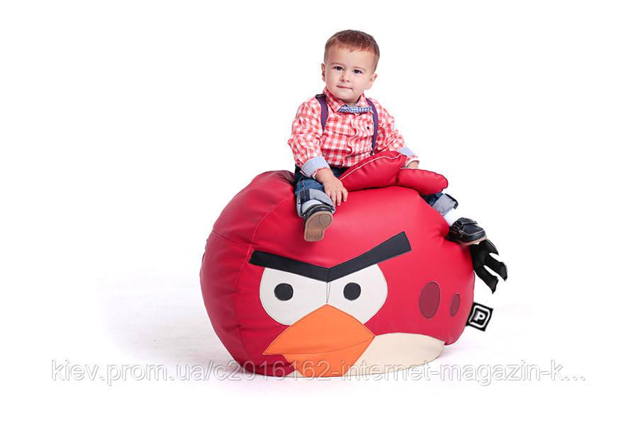 Кресло детское птичка красная размер средний
