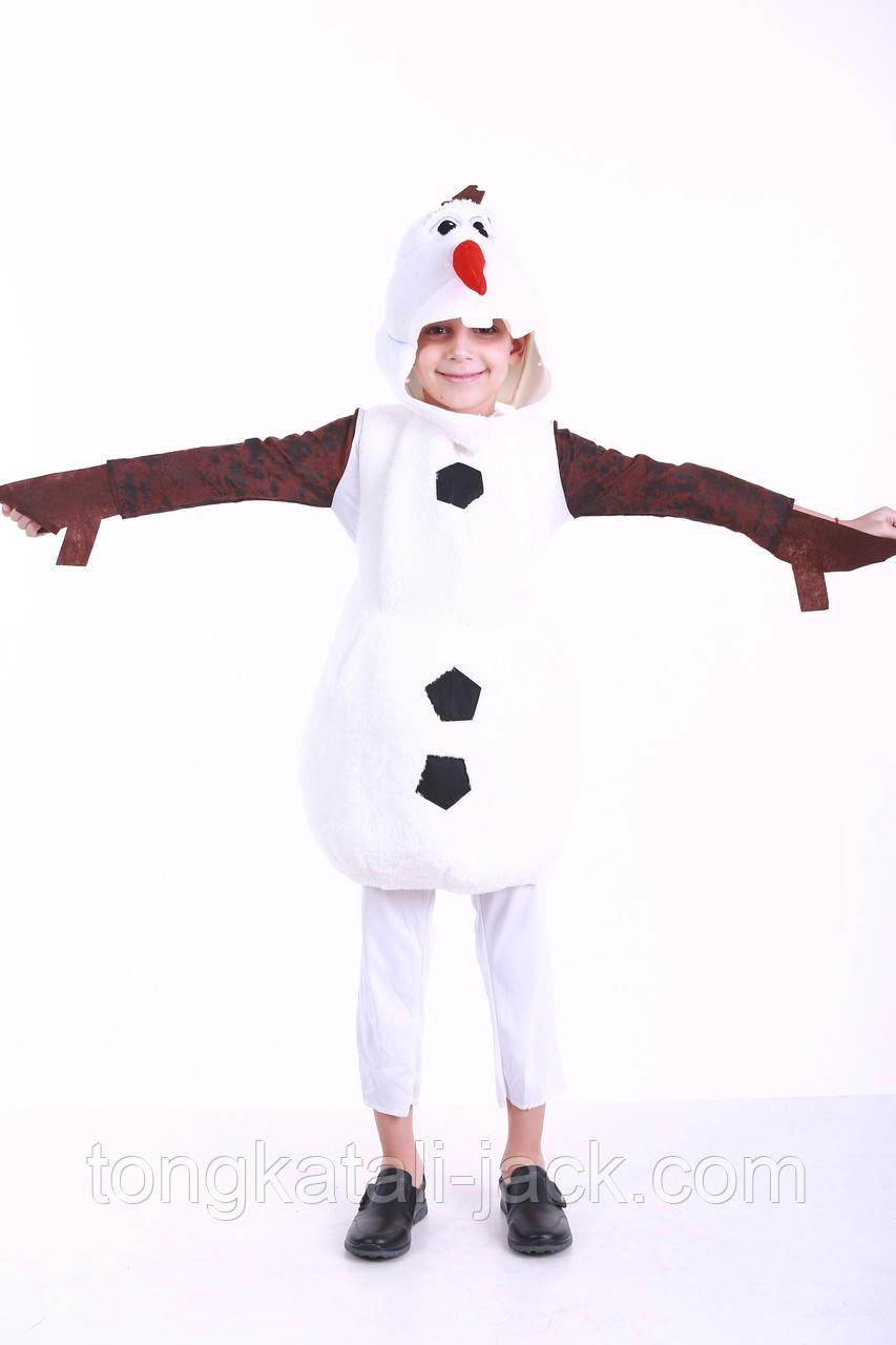 Костюм снеговика Олафа, прокат карнавальной одежды