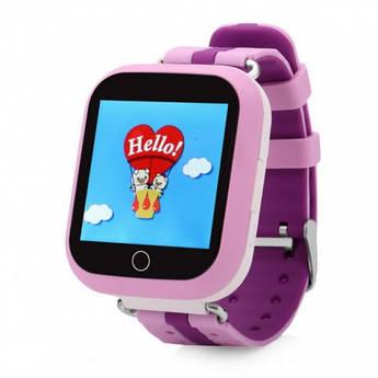 Детские умные GPS-часы Wonlex Smart Baby Watch Q100s розовые