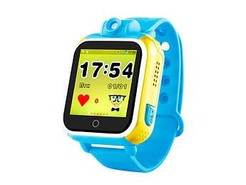 Детские умные GPS-часы Wonlex Smart Baby Watch Q200 голубые