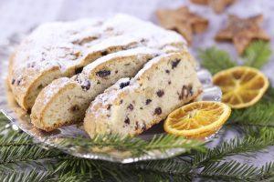 Рождественский пирог *Немецкое Рождество Stollen* 600г из Венгрии