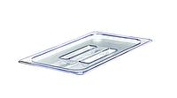 Крышка для гастроемкости GN 1/9 прямоугольная поликарбонатная прозрачная Winco SP7900S
