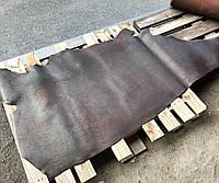 Юфть шорно-седельная ременная натуральная кожа в полукожах Бордовый, 2,5 мм.