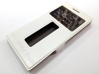 Чехол книжка с окошками momax для Lenovo P70 белый
