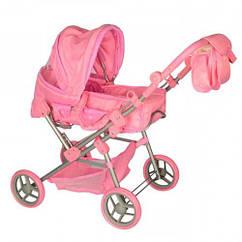 Коляска для куклы Melogo 9368/017 light pink