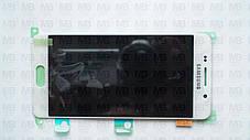 Дисплей с сенсором Samsung А310 Galaxy А3 White оригинал, GH97-18249A, фото 2