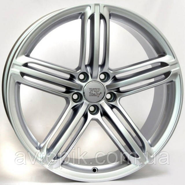Литые диски WSP Italy Audi (W560) Pompei R17 W8 PCD5x112 ET47 DIA66.6 (silver)