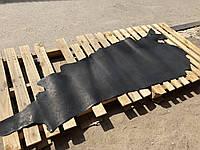 """Юфть """"ЛЮКС"""" шорно-седельная ременная натуральная кожа с отделанной изнанкой, Черный 2.5 мм."""