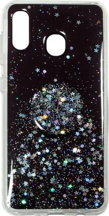 Накладка SA A205/A305 Shine Stars+ Popsocet, фото 2