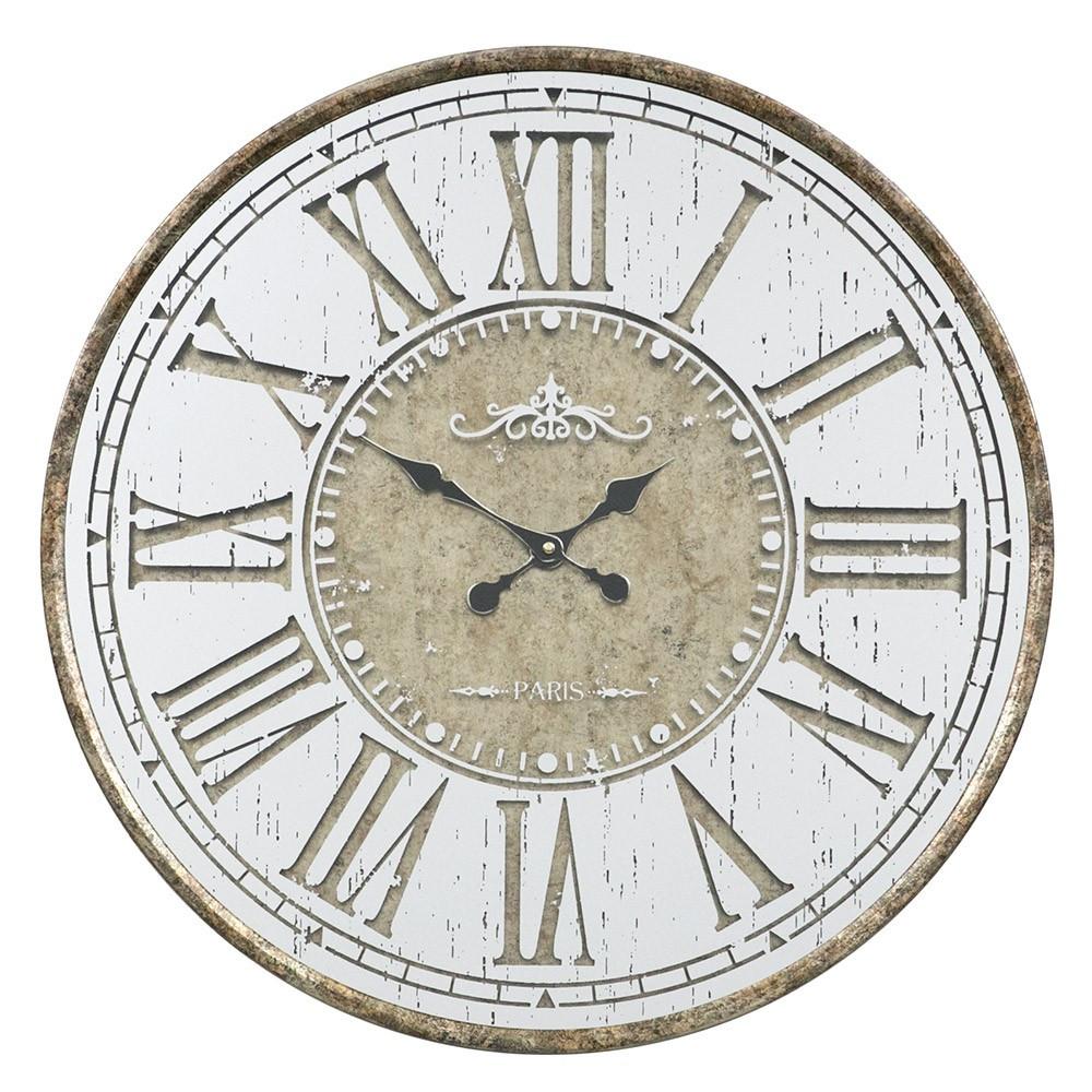 Настенные часы с зеркалом 60 см Retro Mirror
