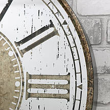 Настенные часы с зеркалом 60 см Retro Mirror, фото 3
