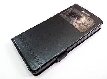 Чехол книжка с окошком momax для Lenovo Vibe S1 Lite черный