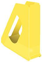 Лоток вертикальный Esselte VIVIDA шириной 60 мм жёлтый