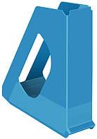 Лоток вертикальный Esselte VIVIDA шириной 60 мм синий