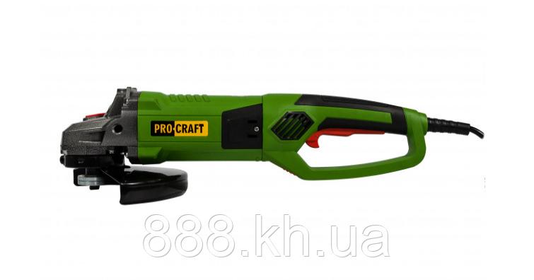 Угловая шлифовальная машина Procraft PW 2550 230 мм