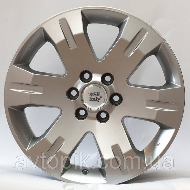Литые диски WSP Italy Nissan (W1851) Red Sea R20 W9 PCD6x114.3 ET30 DIA66.1 (silver)