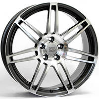 Литые диски WSP Italy Audi (W557) S8 Cosma Two R17 W7.5 PCD5x112 ET30 DIA66.6 (black polished)