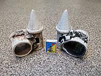 С501 Керамическая декорация для аквариума Башня с поленом